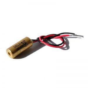 Laser par point, rouge, 650nm, 1mW, 3V DC, Ø9x20mm, Classe laser 2, Longueur de cble 100mm - 70103984 de la marque Laserfuchs image 0 produit