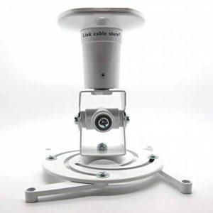 LCS - Support plafond - couleur Blanc - pour vidéoprojecteur inclinable et orientable de la marque Link Cable Store image 0 produit