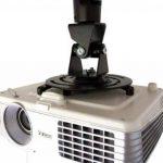 LCS - Support plafond - couleur Noir - pour vidéoprojecteur inclinable et orientable de la marque Link Cable Store image 4 produit