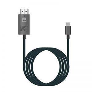 Le convertisseur à grande vitesse d'adaptateur de câble du type C à HDMI HD de 30Hz USB 3.1 4K x 2K surveille des projecteurs pour le partage de la marque JullyeleFRgant image 0 produit