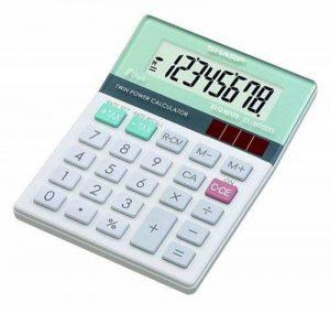 Le meilleur comparatif : Sharp calculatrice financière TOP 3 image 0 produit
