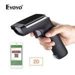 Lecteur Code Barre, EYOYO Scanner Portable Sans Fil Transmission 100m Douchette 1D/2D/QR Code (EY-007A) de la marque Eyoyo image 1 produit