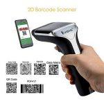 Lecteur Code Barre, EYOYO Scanner Portable Sans Fil Transmission 100m Douchette 1D/2D/QR Code (EY-007A) de la marque Eyoyo image 3 produit