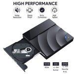 Lecteur/Graveur CD DVD Externe,Oudekay Portable USB 3.0 DVD/CD-RW ROM Enregistreur Writer DVD Drive Ultra Slim Super, Compatible avec Windows 10 / 8 / 7 / XP / Vista, Linux, Mac 10 OCX Pour Mac Air / Mac Pro / Laptop / PC / Desktop / Ordinateur / Notebook image 1 produit