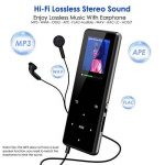 Lecteur MP3 Bluetooth Qoosea 16 Go Portable Hi-Fi sans perte des lecteurs de musique avec casque Vidéo E-Book Lecteur de musique audio numérique avec Touch et FM Radio / Enregistreur vocal Support extensible Max jusqu'à 128G TF Carte de la marque Qoosea image 2 produit