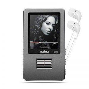 Lecteur MP3, GotechoD baladeur MP3 MP4 8GB avec Rouleau d'Ajustement, Taille d'écran 1.8 Pouce Affichage en Couleur,dictaphone,Radio FM,vidéo,E-Book,chronomètre, Extensible jusqu'à 128GB de la marque GotechoD image 0 produit