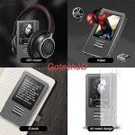 Lecteur MP3, GotechoD baladeur MP3 MP4 8GB avec Rouleau d'Ajustement, Taille d'écran 1.8 Pouce Affichage en Couleur,dictaphone,Radio FM,vidéo,E-Book,chronomètre, Extensible jusqu'à 128GB de la marque GotechoD image 4 produit