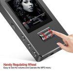 Lecteur MP3, GotechoD baladeur MP3 MP4 8GB avec Rouleau d'Ajustement, Taille d'écran 1.8 Pouce Affichage en Couleur,dictaphone,Radio FM,vidéo,E-Book,chronomètre, Extensible jusqu'à 128GB de la marque GotechoD image 1 produit
