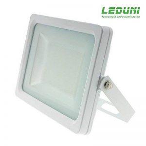 LEDUNI ® Projecteur Projecteur Ultra-mince 30W LED Lumière Extérieure Froid Blanc 6000K Jetons SMD 2835 SuperSlim IP65 Angle Angle 120 ° 195 * 30 * 140Hmm de la marque LEDUNI GLOBAL S.L image 0 produit