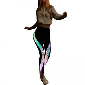 Legging Basique Femme Pantalons Taille Haute Amincissant de Yoga Sport Chic SANFASHION de la marque SANFASHION Pantalons image 0 produit