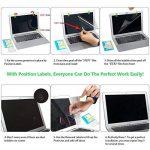 LENTION Protecteur d'écran Anti-Rayures pour MacBook Pro (13 Pouces, mi-2010 à mi-2012) Modèle A1278, LENTION HD Protecteur d'écran 13.3 Pouces, Dureté 4H, Facile à Installer de la marque LENTION image 1 produit