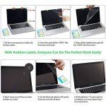 LENTION Protecteur d'écran Anti-Rayures pour MacBook Pro (Retina, 15 Pouces, mi-2012 à mi-2015) Modèle A1398, LENTION HD Protecteur d'écran, Dureté 4H, Facile à Installer de la marque LENTION image 1 produit