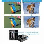 LESHP Vidéoprojecteur HD 1080P Android 6.0 WiFi Bluetooth 4.0 1 G + 8 G 3200 Lumens WIFI Connexion sans Fil pour Jeux en Ligne/ Surfer sur Internet/Home Cinéma de la marque LESHP image 4 produit