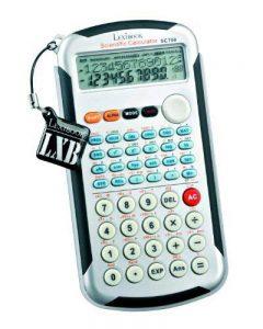Lexibook Calculatrice Scientifique Pro Coll ège 495 fonctions de la marque LEXIBOOK image 0 produit