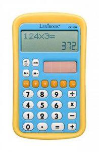 LEXIBOOK CK110FR - Calculatrice Solaire 8 Chiffres - Calculatrice de Poche à piles - Bleu/Jaune de la marque LEXIBOOK image 0 produit