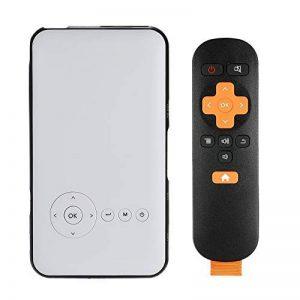 Libina Smart Projecteur Miniature À Domicile Business HD 1080P Projecteur sans Fil WiFi Bluetooth Handheld Mini Projecteur, Blanc de la marque Libina image 0 produit
