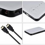 Libina Smart Projecteur Miniature À Domicile Business HD 1080P Projecteur sans Fil WiFi Bluetooth Handheld Mini Projecteur, Blanc de la marque Libina image 1 produit