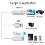 Lightning MHL vers HDMI Adaptateur pour iPhone iPad et Samsung, smartphones, Boscheng Plug and Play câble adaptateur HDTV pour la duplication d'écran sur HDTV Vidéoprojecteur de la marque Boscheng image 4 produit