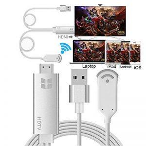 Lightning MHL vers HDMI Adaptateur pour iPhone iPad et Samsung, smartphones, Boscheng Plug and Play câble adaptateur HDTV pour la duplication d'écran sur HDTV Vidéoprojecteur de la marque Boscheng image 0 produit