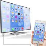 Lightning vers HDMI Cable Adaptateur,Musou 2m High Speed Full HD 1080P HDTV MHL Adaptateur de câble Plug and Play, Pour iPhone /SE, iPad Air / Mini / Pro TV Projecteur de la marque Musou image 3 produit