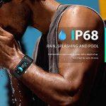 LJXAN Activité Fitness Tracker Bluetooth Continu Fréquence Cardiaque Pression Artérielle Suivi Étape Calorie Calcul De La Glycémie Veille Bracelet Smart,Black de la marque LJXAN image 3 produit