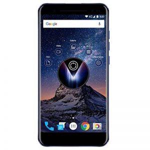 Logicom Volt-R Smartphone vidéoprojecteur débloqué 4G (Ecran: 5, 5 pouces - 32 Go - Double SIM - Android 7. 0 Nougat - Projection HD 720p - jusqu'à 200 pouces / 5 mètres - 4h d'autonomie) Bleu métallisé de la marque Logicom image 0 produit