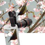 Lot d'objectifs pour appareil photo de smartphones avec trépied, pour iPhone, Samsung, Huawei, et autres marques, par Apexel de la marque Apexel image 4 produit