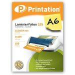 Lot de 100DIN A6poches plastification, 2x 125microns 111x 154mm, brillant Printation Premium plastifier de la marque Printation image 1 produit