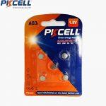 LR41SW LR736 LR736SW SR41W 384 392 LR41 AG3 192 1,5 V Piles alcalines (Lot de 10) de la marque PKCELL image 1 produit