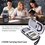 LTGEM Étui Rigide Voyage Sac de Transport de Stockage for Texas Instruments TI-84, 83/Plus/CE Graphics Calculator,Comprend Mesh Pocket- Noir de la marque LTGEM image 1 produit