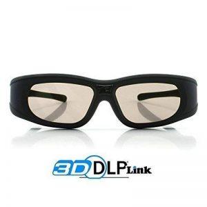 """Lunettes 3D DLP-Link """"Wave Xtra""""- 1 paire de lunettes 3D - FULL HD 1080p - Compatibles uniquement avec les vidéoprojecteurs DLP 3D de la marque Cinemax image 0 produit"""