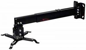 Luxburg® kit de support mur / plafond Universel en Aluminium pour Projecteur 43-65cm - soutient 15kg 30 degrés Noir de la marque Luxburg® image 0 produit