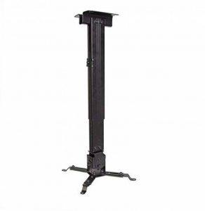 Luxburg® kit de Support Plafond Universel en Aluminium pour Projecteur 70-120cm - soutient 15kg 30 Degrés Noir de la marque Luxburg® image 0 produit