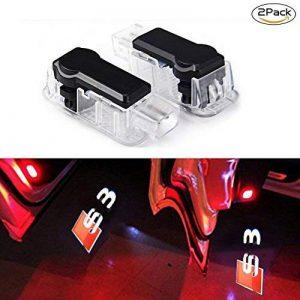 Lyauta 2x Porte de voiture lumière Ghost Shadow lampe LED 3d Logo Vidéoprojecteur de la marque Carlige image 0 produit