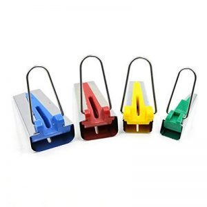 lzndeal Appareil à Fabric Bias,Outil de reliure couture Quilting,pour Fabriquer Largeur,4 Tailles en 6 mm, 12 mm, 18 mm, 25 mm de la marque lzndeal image 0 produit