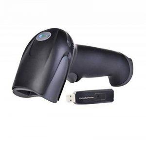 M3M Bluetooth Wifi Wireless Barcode Scanner 300M Distance De Transmission 2.4 G Poignée Automatique Lecteur De Codes À Barres Magasin, Supermarché, Entrepôt (Mise À Niveau de la marque M3M image 0 produit