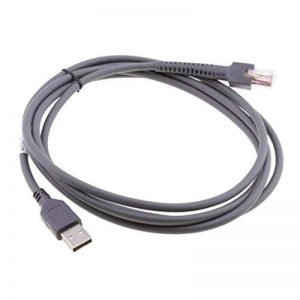 MagiDeal Câble Usb Pour Lecteur De Codes à Barres Ls2208 3408 4278 7808 M2007 Motorola de la marque MagiDeal image 0 produit