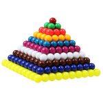MagiDeal Jeu Educatif Enfants Montessori Perles Kit Jouet de Calcul Racine Carrée Nombre 1 à 10 Matériel Education Précoce Exercice Mathématiques de la marque MagiDeal image 4 produit