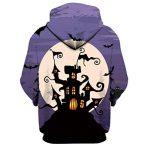 Manadlian Sweatshirt Hommes Femmes Mode 3D Imprimer Manches Longues Halloween Couples Hoodies Top Chemisiers Costume Halloween de la marque Manadlian-T+Shirt image 2 produit