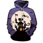 Manadlian Sweatshirt Hommes Femmes Mode 3D Imprimer Manches Longues Halloween Couples Hoodies Top Chemisiers Costume Halloween de la marque Manadlian-T+Shirt image 1 produit