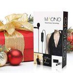 Maono Lavalier Micro, Lapel Mic mains libres avec condensateur omnidirectionnel pour appareil photo, DSLR, iPhone, Android, Samsung, Sony, PC, ordinateur portable RED de la marque MAONO image 2 produit
