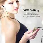 MAOZUA Enregistreur vocal numérique professionnel de 8 Go Enregistreur vocal activé par radio USB rechargeable avec écran LCD pour les conférences Cours et entrevues de la marque MAOZUA image 3 produit