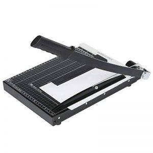 Massicot A4 Cisaille Personnelle 12 Feuilles 30,5 cm Machine de Coupe-papier Cutter Pour Office Bureau, Noir de la marque Meditool image 0 produit