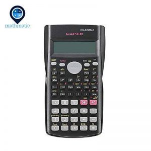 Mathmatic – Handheld multifonction 2 lignes écran calculatrice Scientifique 82 Ms-a Portable multifonctionnel calculatrice de la marque Mathmatic image 0 produit