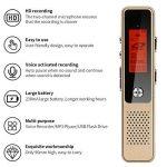 meilleur enregistreur numérique portable TOP 9 image 2 produit