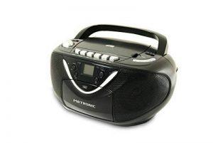 Metronic 477131 Radio CD MP3 avec Lecteur Enregistreur Cassette de la marque Metronic image 0 produit