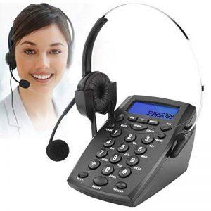 Micro-casque téléphonique call center pavé numérique téléphone avec tone dial Key Pad & BIS pour Business Téléphone Filaire Call Center Téléphone enregistrer le voix de la marque DIGITNOW! image 0 produit