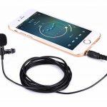 Micro Cravate pour Téléphone, Seacue 3.5mm Audio Jack Omnidirectionnel Microphone Condensateur Tie Clip On pour Youtube / Interview / Podcast / Vidéo, Projet pour IOS / Andriod / Windows / Mac ( 2m ) de la marque Seacue image 3 produit