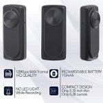 Micro enregistreur vocal | Capacité de 8 Go -141 heures | 20 heures de vie de la batterie | Facile à utiliser - nanoREC par aTTo digital de la marque image 2 produit