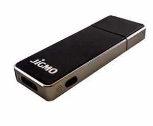 Microphone Enregistrement Voix avec USB - JiGMO (Argent), Avec Indicateur de Batterie, Activation Vocale, Enregistreur Audio Portable / Capacité: 8 Go / 36 heures / Avec un Guide Numérique / Ne Manquez Jamais un Mot! de la marque JiGMO image 0 produit